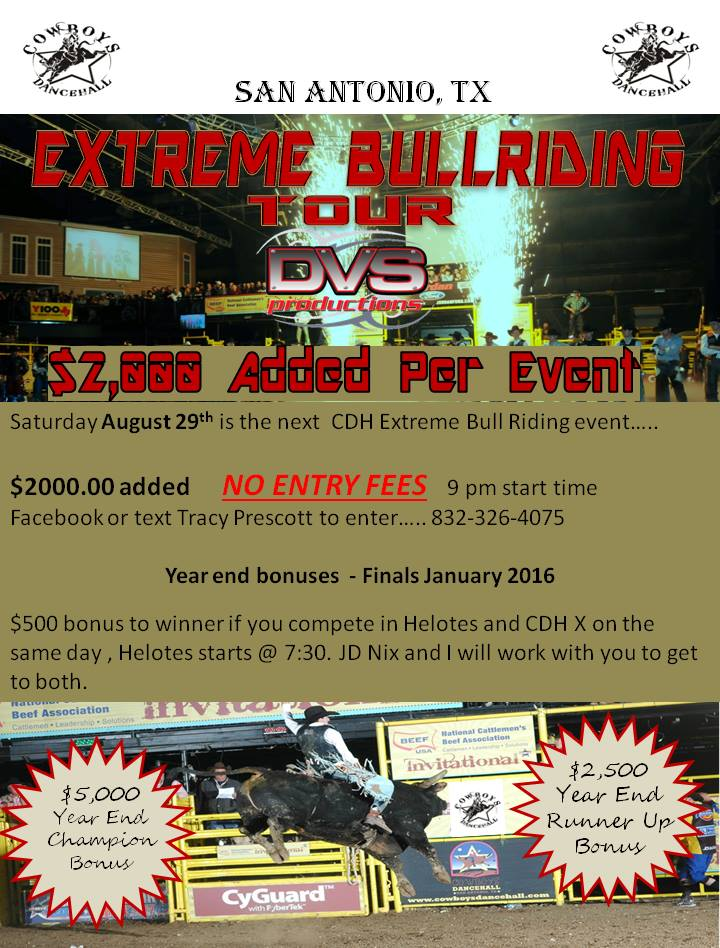 Results Cowboys Extreme Bull Riding 8 29 15 Matthew